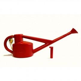 Regadera Haws de invernadero roja