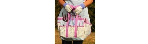 Herramientas y accesorios de jardinería para señoras
