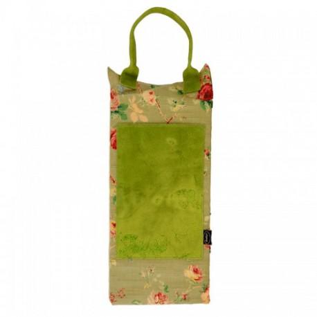Almohadilla impermeable verde