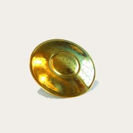 Recambio roseta redonda de bronce
