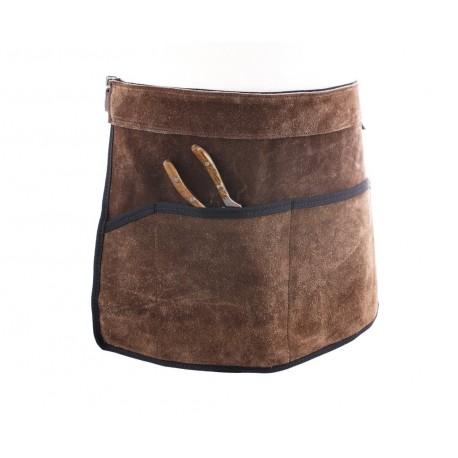 Cinturón portaherramientas marrón