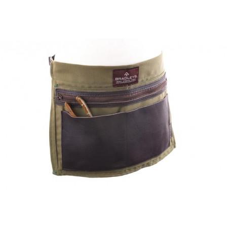 Cinturón portaherramientas de loneta y cuero