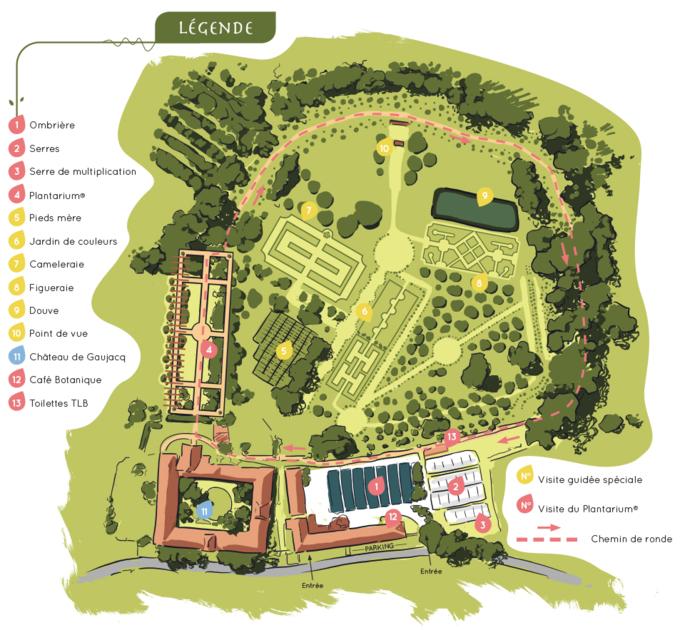 Plano del plantarium